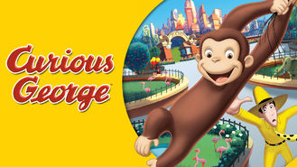 Netflix box art for Curious George