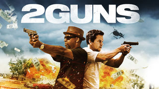 Netflix box art for 2 Guns