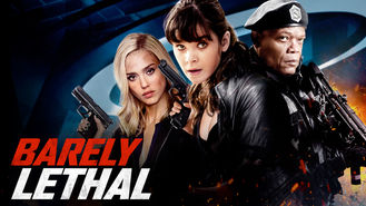 Netflix box art for Barely Lethal
